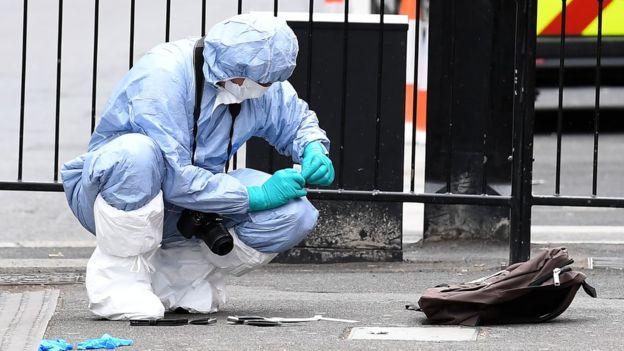 Встолице Англии милиция задержала четырех подозреваемых вподготовке теракта