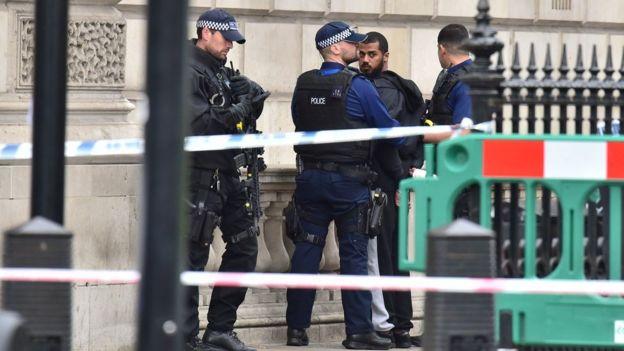 Встолице Англии задержали четырех предполагаемых террористов иранили девушку