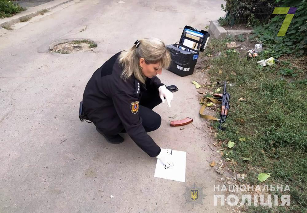 В Одессе задержали пьяного хулигана, стрелявшего в воздух из карабина