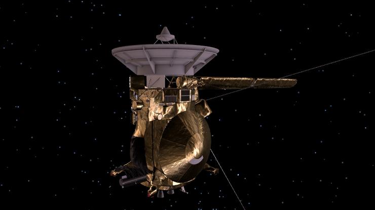 Зонд Cassini начал свой последний спуск ватмосферу Сатурна
