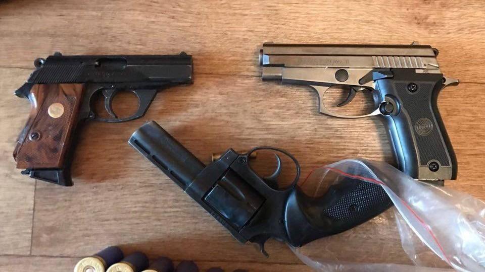 ВКиеве разоблачили группу умельцев, наладивших оружейный бизнес