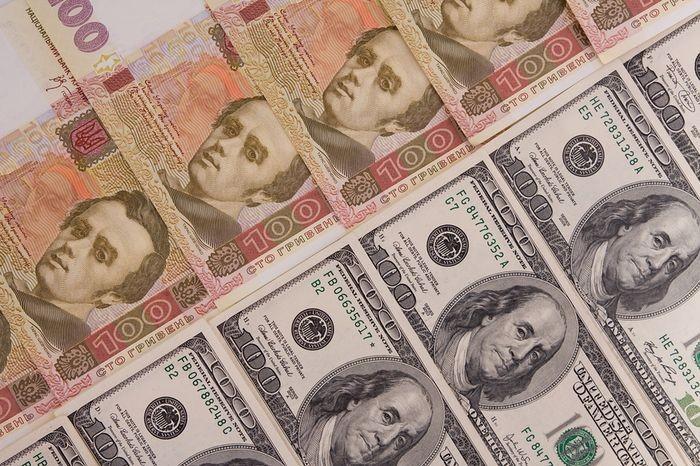 Вгосударстве Украина  упал вцене  доллар