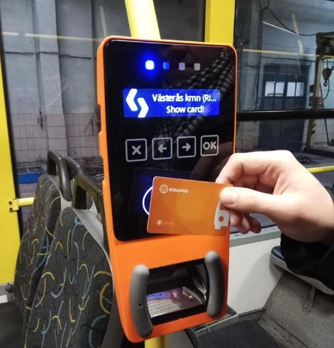 Вкиевском транспорте начали устанавливать оборудование для электронного билета