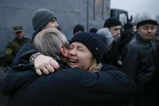 Уосвобожденных изплена украинцев отыскали следы пыток