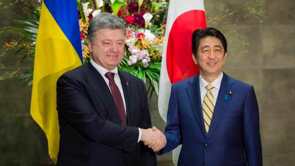 Посол Японии поздравил украинцев супрощением визового режима сего страной