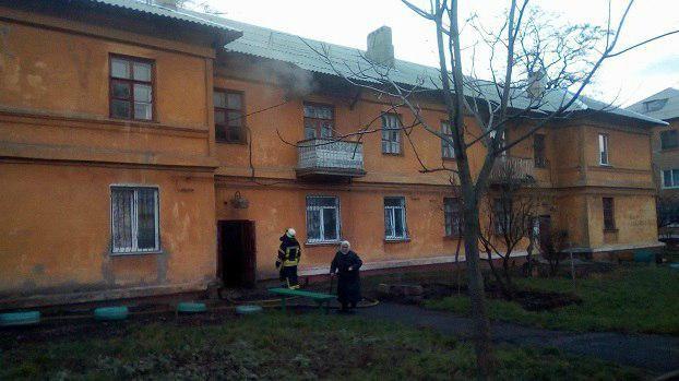 ВКраматорске задержали молодого человека, который поджигал подъезды 27 раз