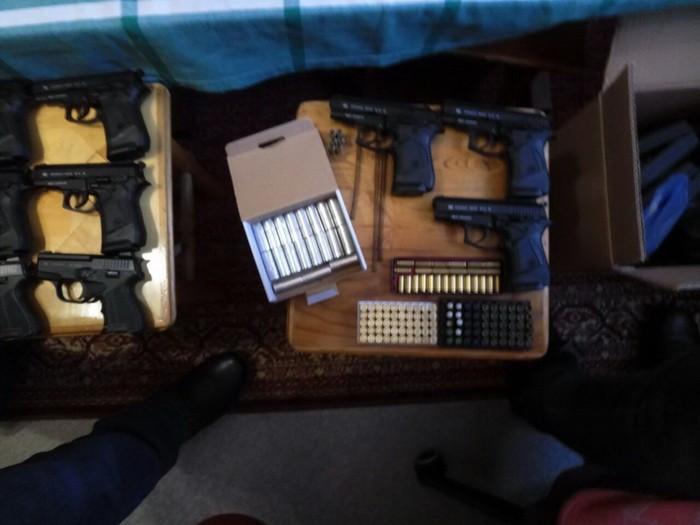 ВКиеве СБУ задержала торговца оружием