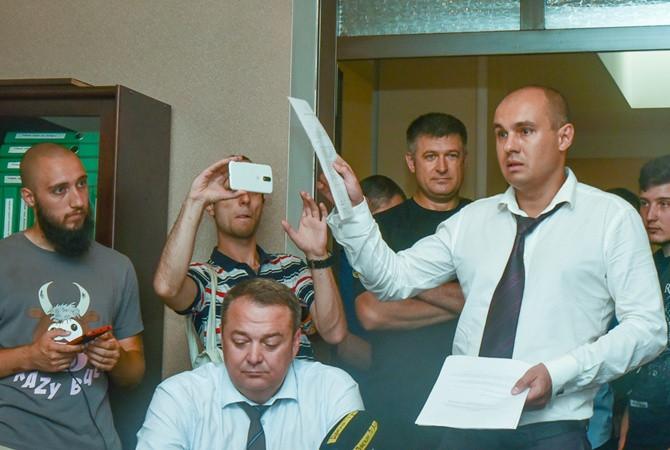 В Одессе ректора медуниверситета меняли со штурмом