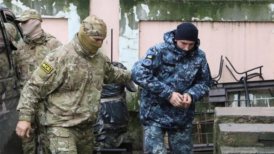 Кремль: РФ  рассмотрит предложения Украины пообмену задержанных моряков