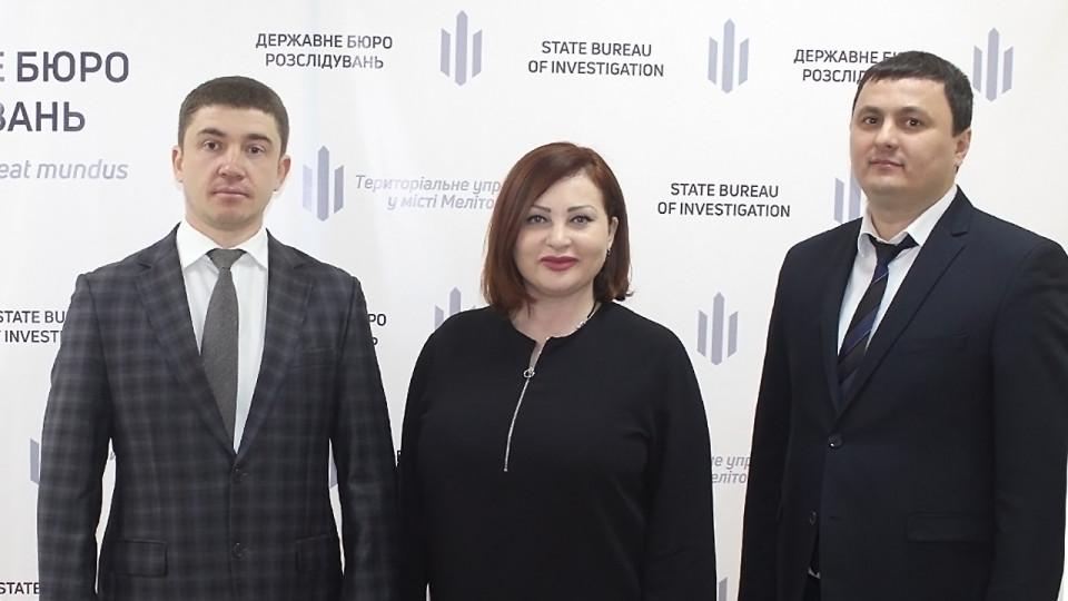 У Мелітополі представили директора територіального управління ДБР