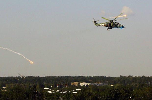 Киевлян «поставили на уши» боевые вертолеты над столицей