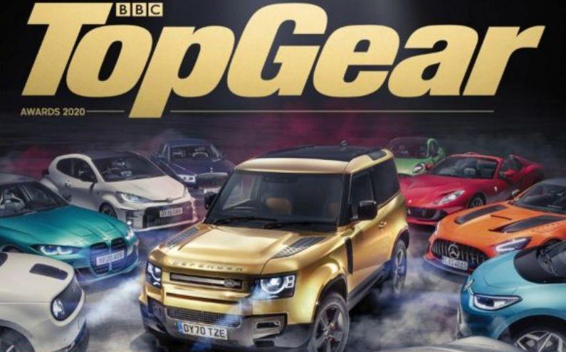 Назвали лучший автомобиль в 2020 году по версии Top Gear