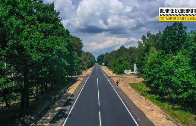 «Велике будівництво» в Україні: відремонтовано дорогу до Шацьких озер