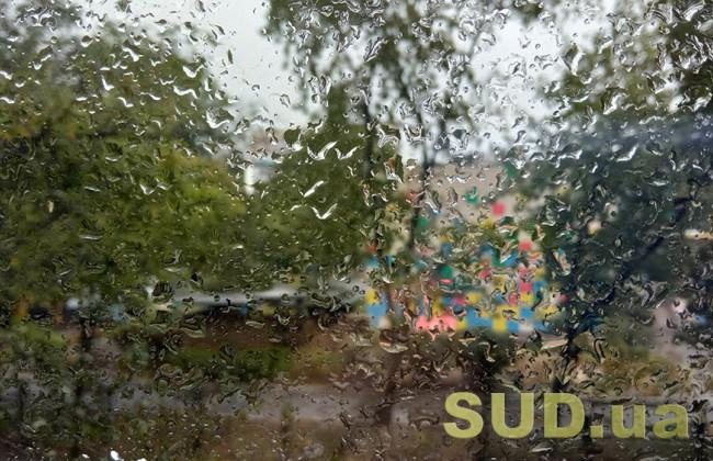 Киев накрыл сильный ливень с грозой