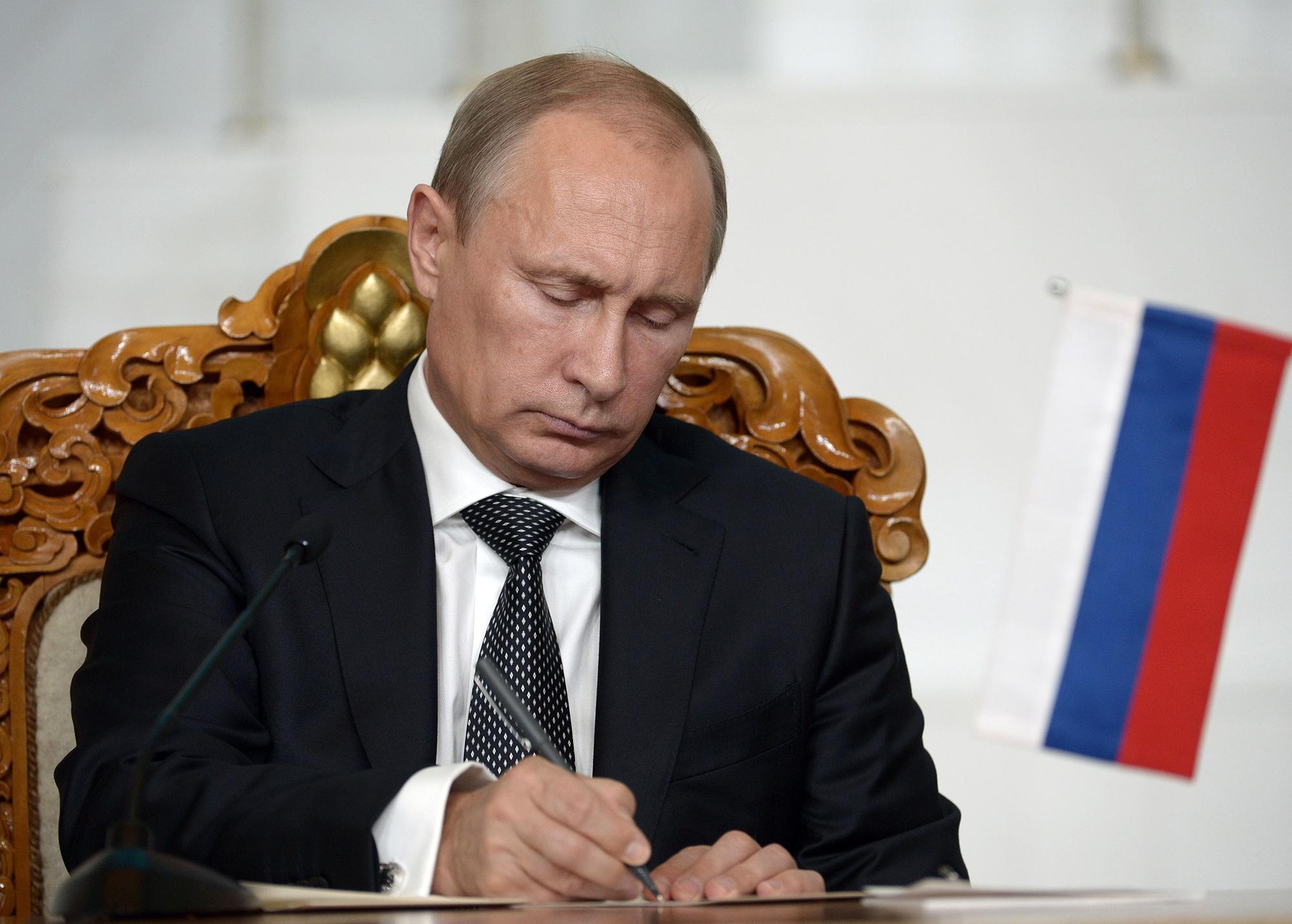 Путин подписал указы о ... - ntv.ru