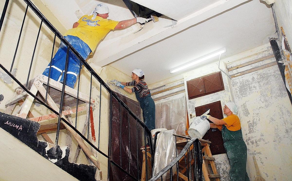 Картинки по запросу Как сделать капитальный ремонт в многоэтажке?