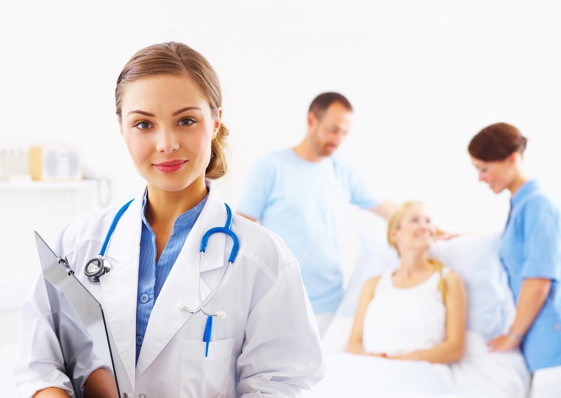В картинках врачи